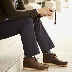 Clark's Originals | Oiled Leather Wallabees Shoes